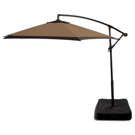 patio umbrella base patio umbrellas with base castlecreek bronze patio