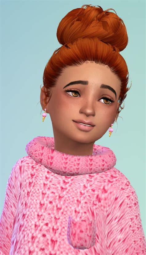 sims 4 cc kids hair child hair sims 4 pinterest children hair sims and