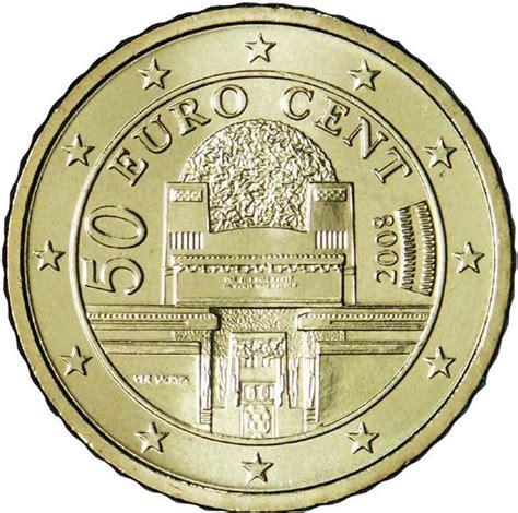 50 buro cent 50 cents d 2e carte autriche numista