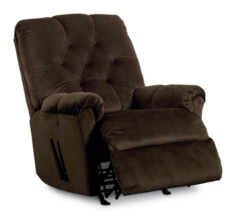 lane swivel rocker recliner lane rocker recliners miles pad over chaise tufted back
