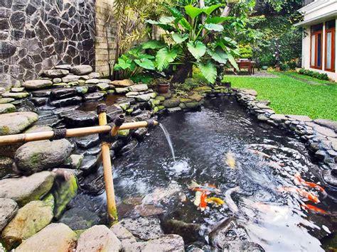 desain gambar ikan 17 kolam ikan minimalis depan rumah terbaik 2018 rumah