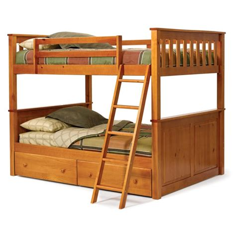 bunk beds with drawers furniture wood bunk bed with storage drawers