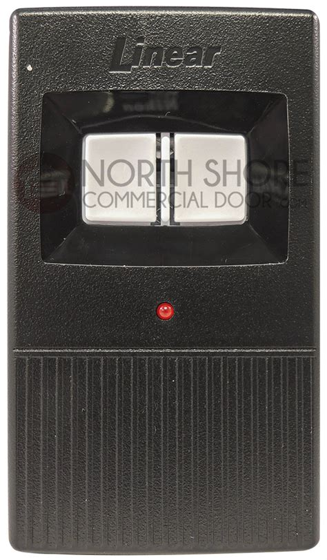 Garage Door Opener Transmitter by Linear Delta 3 Dt21 2 Button Garage Door Visor Remote