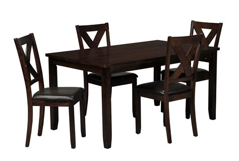 Living Spaces Dining Table Dakota 5 Dining Table W Side Chairs Living Spaces