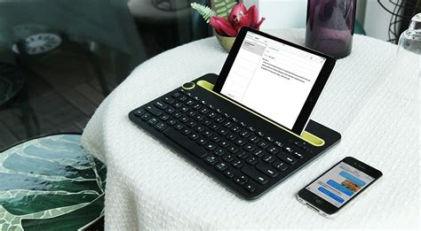 Logitech Wireless Bluetooth Keyboard K480 Keyboar logitech bluetooth multi device keyboard k480 187 gadget flow