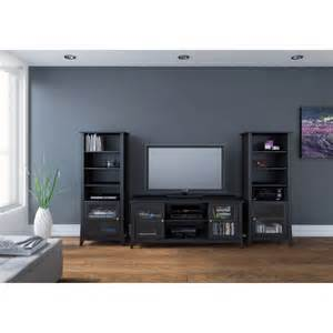 Curio Cabinet Tv Stand Megalak Finition Tuxedo 58 In Tv Console With Curio