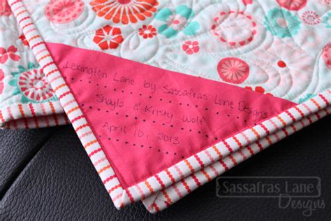 design a quilt label top ten tuesday quilt labels display and storage