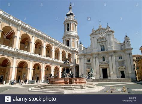 loreto santa casa basilica della santa casa at the hill town of loreto in