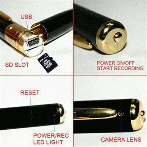 Cctv Pulpen pulpen kamera kamera pengintai bentuk pulpen elevenia