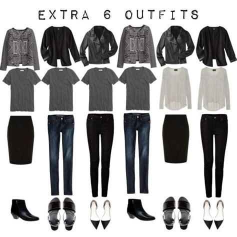 french minimalist wardrobe extra 6 outfits from the 5 item french wardrobe
