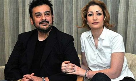 Adnan Says Wants His Baby by Singer Adnan Sami And His Third Roya Blessed With A