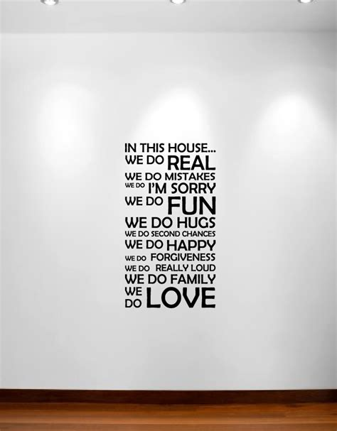 in this house wall sticker in this house we do wall decal sticker quote 1126 innovativestencils