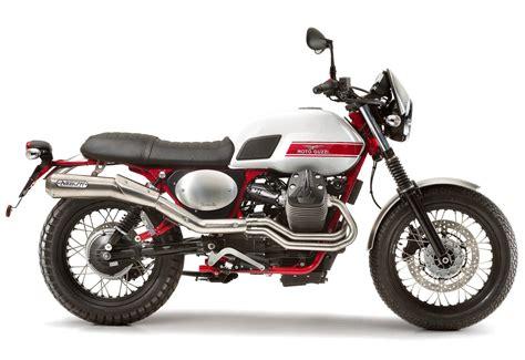 Moto Guzzi V7 by Moto Guzzi Catches Scrambler Wave With New V7 Ii Stornello
