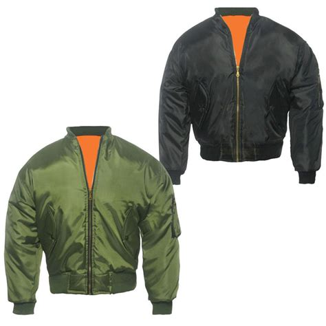 Arc Jaket Tad Green Scoot relco classic flight ma1 bomber jacket olive green relco