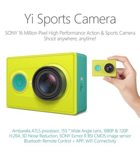 Dan Spesifikasi Gopro Xiaomi Yi review spesifikasi dan harga xiaomi yi lengkap pusatreview