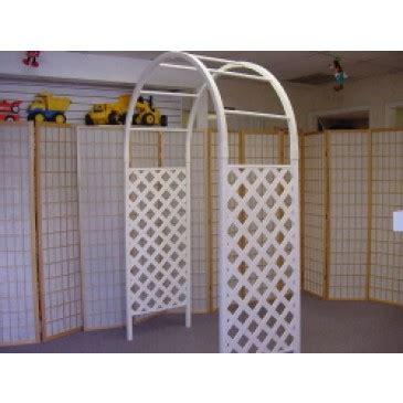 Wedding Lattice Arch by Lattice Arch White Plastic Lattice Wedding Arch