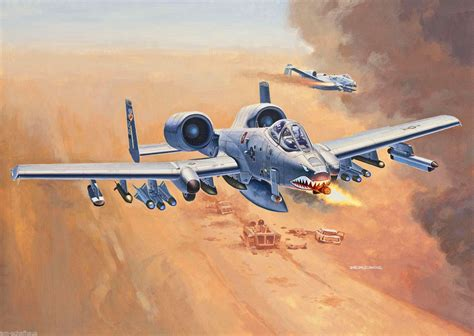 A-10A Thunderbolt II (Andrzej Deredos) | 1000+ Modern ... A 10 Warthog Pictures To Print Navy
