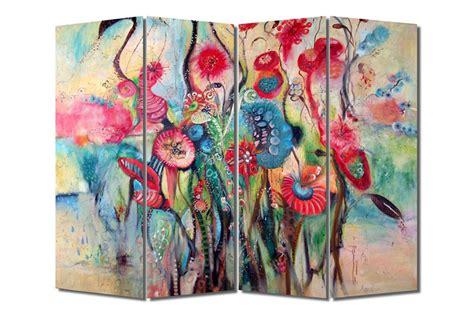 Murah Dekorasi Lukisan Tangan Kanvas Pemandangan Ac534 idekoru jual sketsel pembatas ruangan dekorasi lukis rotan dan print modern minimalis