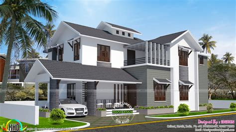 cost of total renovation of house 18 lakh cost estimated remodeling home plan kerala home design and floor plans