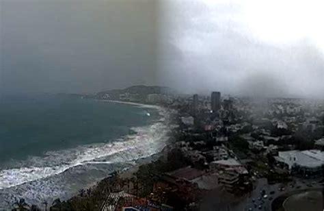 imagenes satelitales huracan patricia en vivo en vivo hurac 225 n patricia en costas de m 233 xico rub 233 n