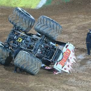 monster truck crash videos monster truck crash abc news australian broadcasting