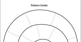 Snake Template by Free Pattern Snake Template Projects For