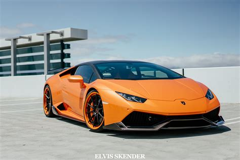 Orange Lamborghini Stunning Orange Lamborghini Huracan By 1016 Industries