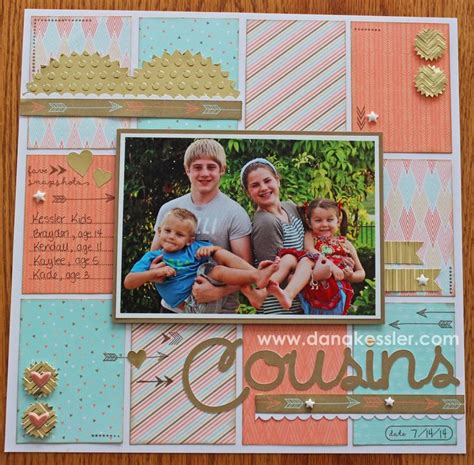 Scrapbook Layout Cousins | 1000 images about ctmh inspirations scrapbook layouts