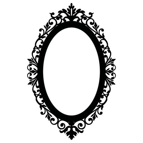 Jewelrys Silhouette Circle To Remind You Of Whats Important by Oval Frame Clipart Jewelry Ideas