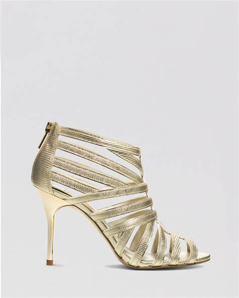 michael kors high heel sandals michael michael kors open toe sandals tatianna high heel