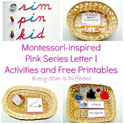 printable montessori pink series montessori inspired pink series activities and free