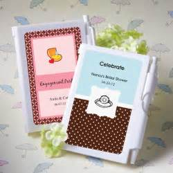 bridal shower favors notebook personalized wedding shower favors