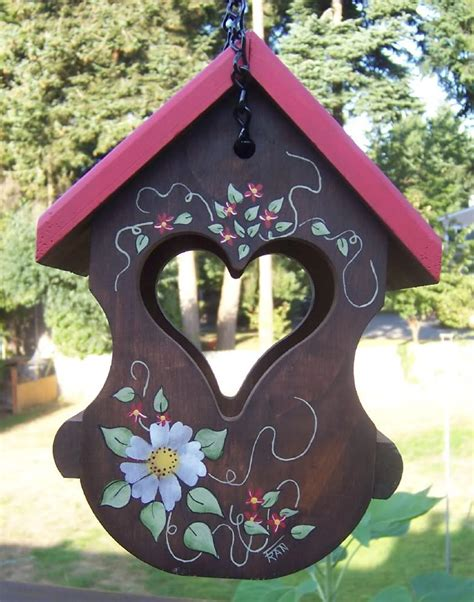 painted bird houses designs painted bunting bird house plans birdcage design ideas