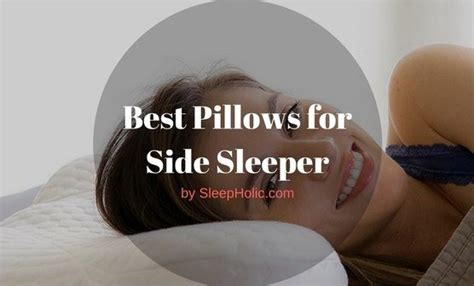 Best Side Sleeper Pillow Reviews by Best Pillows For Side Sleeper Reviews 2017 Ultimate Guide