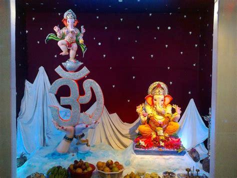 Home Ganpati Decoration Tapan Sevak Home Tapan About Godhra Ganesh Contect