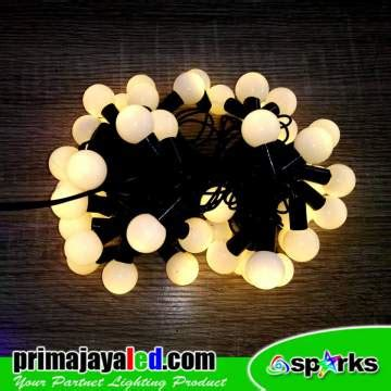 Led Twingkle Anggur Warm White lu led anggur ww prima jaya led