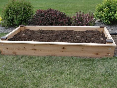 Raised Bed Garden Soil Depth by Beneficial Raised Bed Gardening Soil Outdoor Decorations