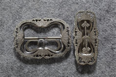 Priyayi Set enticz kraton belt buckles from central java indonesia