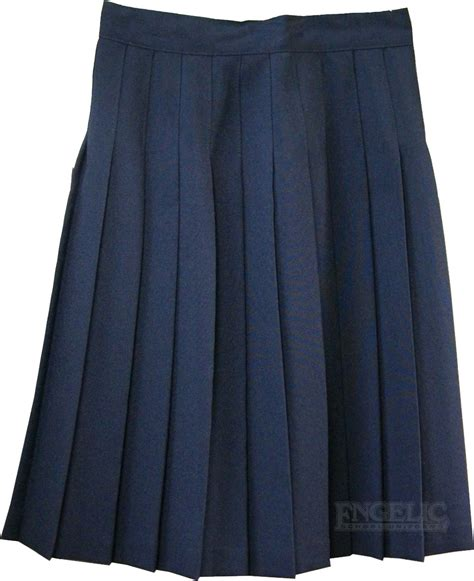 school pleated skirt navy or black engelic