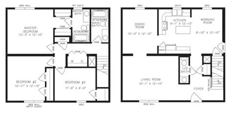 two story floor plans key modular homes