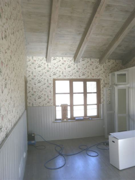Excepcional  Pintores En Asturias #7: Madera-envejecida-techos-y-suelos-empapelado-paredes-y-lacado-del-friso_656803.jpg