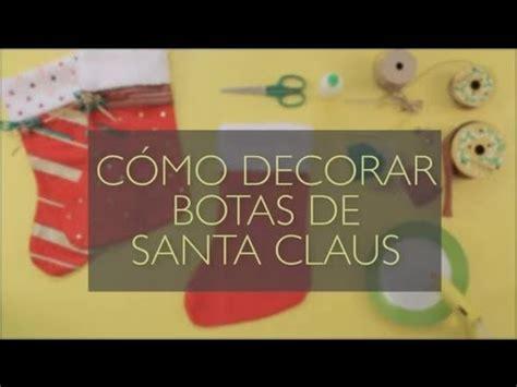 botas de papel para navidad c 243 mo decorar botas de santa claus manualidades navide 241 as