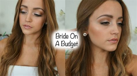 Drugstore Bridal Makeup Tutorial Using Affordable Brushes