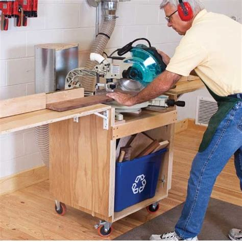 full service mitersaw stand downloadable plan
