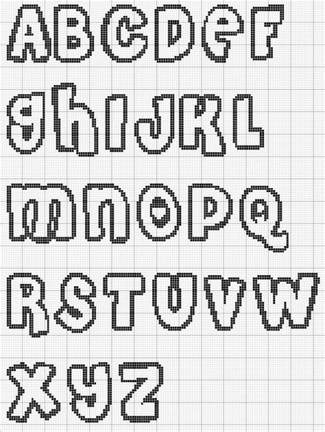 cross stitch alphabet pattern letters needle