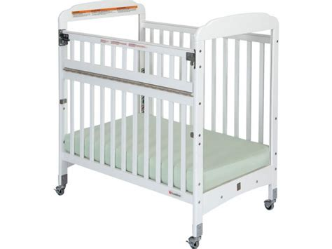 Compact Crib Mattress Serenity Safereach Compact Crib Clearview W Mattress Fnd 300sr Daycare Cribs
