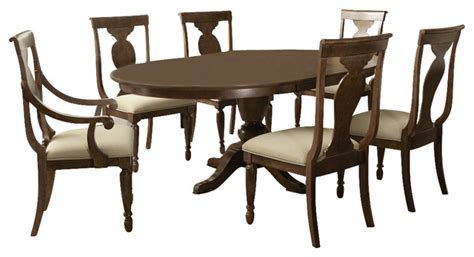 liberty furniture dining room sets liberty furniture rustic tradition 7 piece 72x54 dining