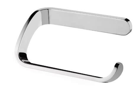 bisk bathroom accessories bisk 13 x 7 5 x 5 cm natura toilet roll holder chrome