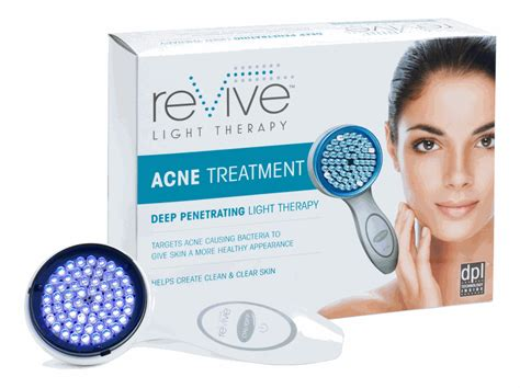 revive light therapy acne reviews revive acne light therapy system massagetools