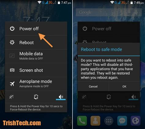 safe mode android phone android phone safe mode on කරම techno lanka